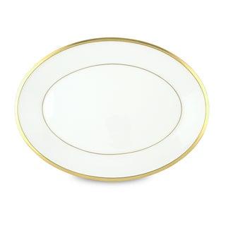 Lenox Eternal White Ivory, Gold Bone China 13-inch Oval Platter