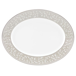 Lenox Opal Innocence Dune 13-inch Oval Platter