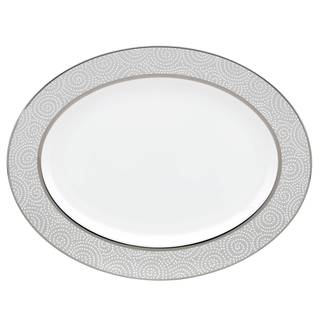 Lenox Pearl Beads 19-inch Oval Platter