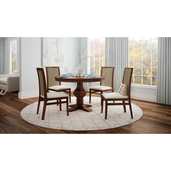 46 Inch Round Table.Shop Artefama Tower Distressed 47 Inch Round Table Free Shipping