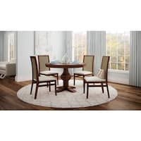 Artefama Tower Distressed 47-inch Round Table