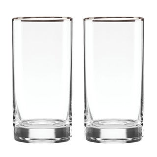 Lenox Timeless Platinum Hiball Glass
