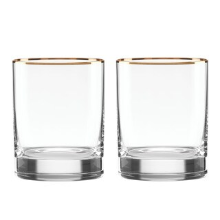Lenox Timeless Gold Double-Walled Old-fashion Glass (1 glass)