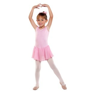 Danshuz Girl's Sleeveless Dance Dress