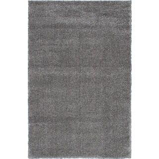 Alaskan Gray Shag Rug (8' x 10')