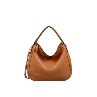 Mellow World London Brown Faux-leather Hobo Handbag