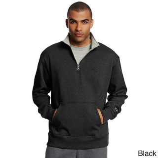 Champion Men's Powerblend Fleece 1/4 Zip Pullover