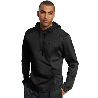 Champion Men's Tech Polyester Fleece Pullover Hoodie