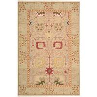 Nourison Nourmak Gold Area Rug (5'10 x 8'10) - 5'10 x 8'10