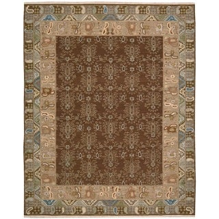 Nourison Nourmak Brown Area Rug (3'10 x 5'10)