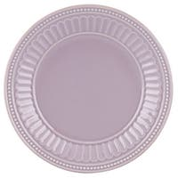 Lenox French Perle Groove Violet Dessert Plate