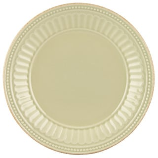 Lenox French Perle Groove Pistachio Dessert Plate