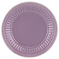Lenox French Perle Groove Lavender Dessert Plate