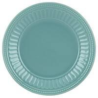 Lenox French Perle Groove Bluebell Dessert Plate