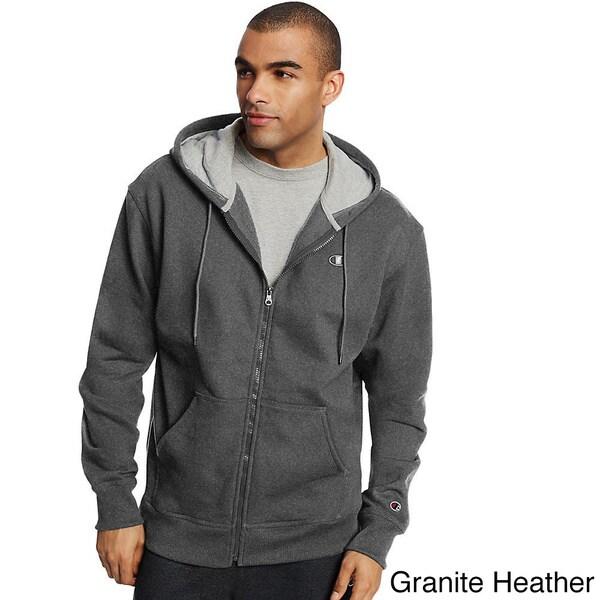 Champion Mens Full Zip Jacket with Hood