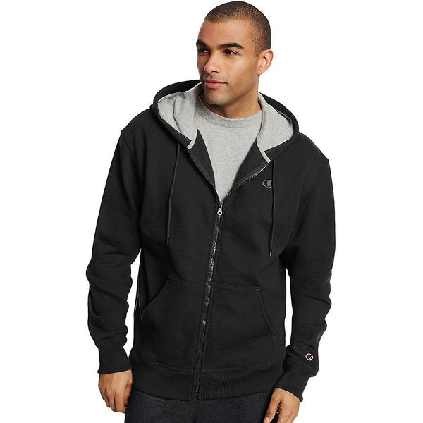 5f9cdbd37 Shop Champion Men's Powerblend Fleece Full-zip Jacket - Free ...
