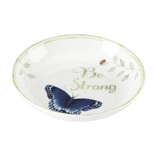 Lenox Butterfly Meadow 'Be Strong' Dish