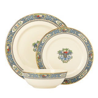 Lenox Autumn 3-piece Boxed Place Setting  sc 1 st  Overstock & China Dinnerware For Less | Overstock