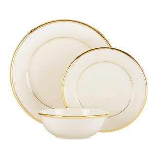 Lenox Eternal Gold China 3-piece Place Setting