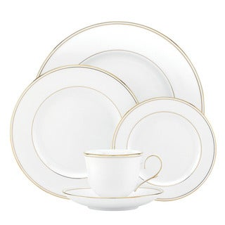 Lenox Federal Gold Five-piece Boxed Place Setting