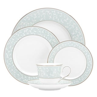 Lenox Opal Innocence Blue Bone China 5-piece Place Setting