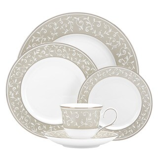 Lenox Opal Innocence Dune China 5-piece Place Setting