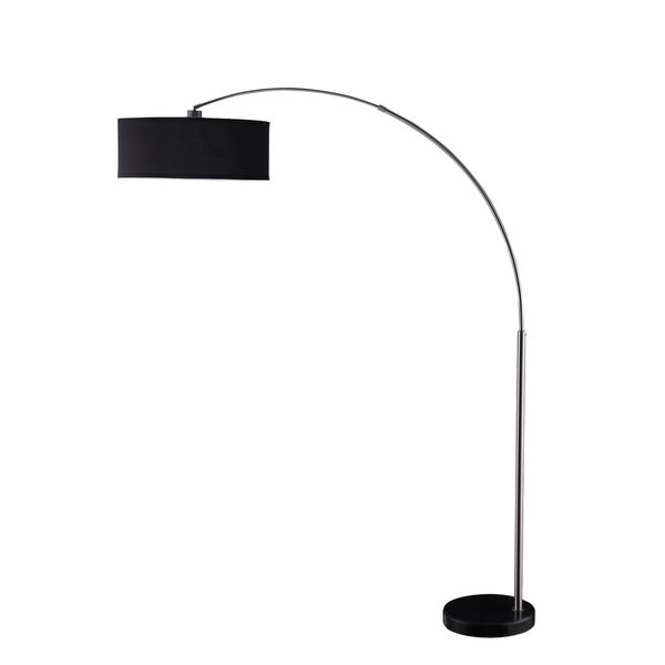 Coaster Company Black Metal 1-light Arched Floor Lamp