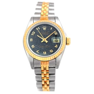 Rolex Pre-owned Women's Two-tone Datejust 26-millimeter Watch
