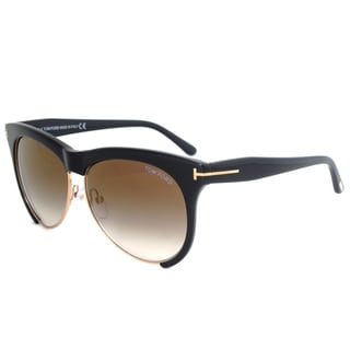 Tom Ford Leona Sunglasses FT0365 01G
