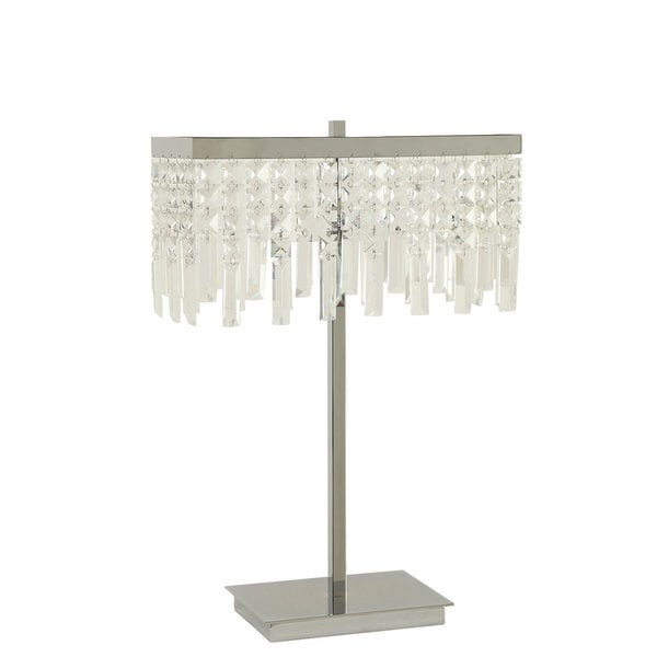 Coaster Company Table Lamp With Dropped Crystal Shade