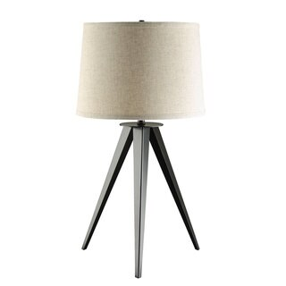 Coaster Company 3-leg Lamp with Off-white Round Shade