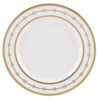 Lenox Jeweled Jardin White/Goldtone China Butter Plate