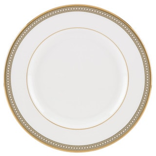 Lenox Jeweled Jardin White/Goldtone Bone China Salad Plate