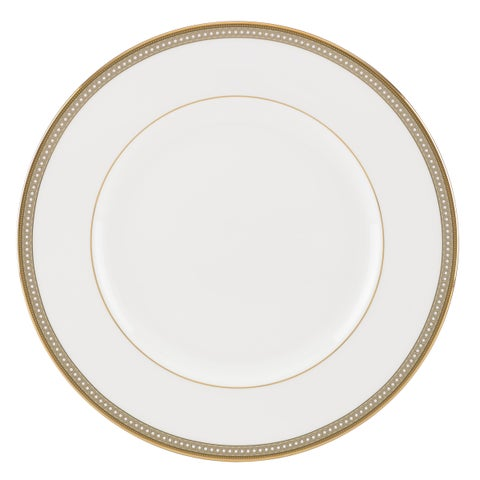 Lenox Jeweled Jardin White/Gold China Dinner Plate