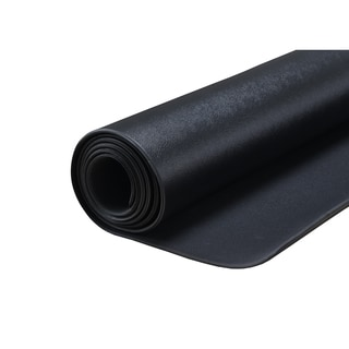 Sunny Health & Fitness No. 074-M Black Medium Treadmill Mat