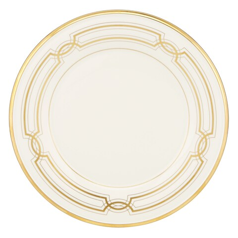 Lenox Eternal Ivory/Gold China 50th Anniversary Accent Plate