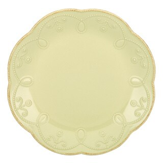 Lenox French Perle Pistachio Everything Green Stoneware Dinner Plate