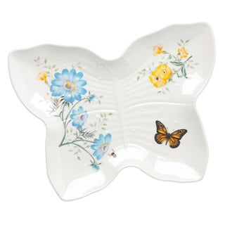 Lenox Butterfly Meadow Classic Multicolor Melamine Serving Tray