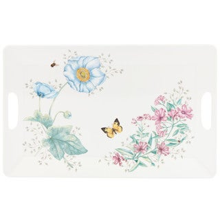 Lenox Butterfly Meadow Melamine Large Serving Tray
