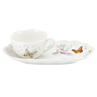 Lenox Butterfly Meadow Soup and Sandwich Tray