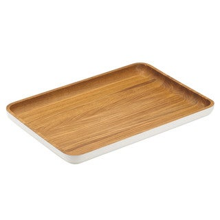 Dansk Burbs Wood Large Rectangular Tray