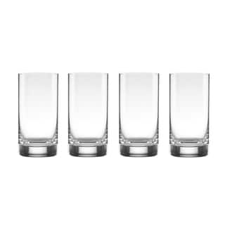 Lenox Tuscany Classics Clear Crystal Cylinder Hiball Glasses (Pack of 4)