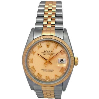 Pre-owned Rolex 36-millimeter Two-tone Datejust Watch