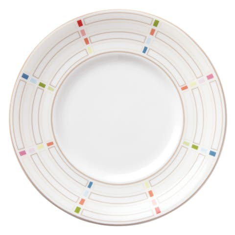 Lenox Entertain 365 Sculpture Confetti Dessert Plates (Pack of 4)