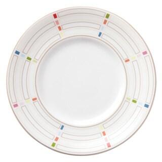 Lenox Entertain 365 Sculpture Confetti Dessert Plates (Pack of 4)