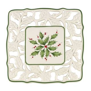 Lenox Holiday Porcelain Pierced Trivet