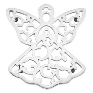 Lenox Silver Aluminum Angel Trivet