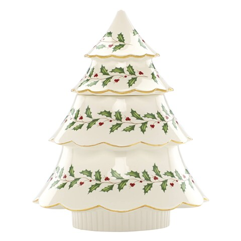 Lenox Holiday Archive Tree Cookie Jar