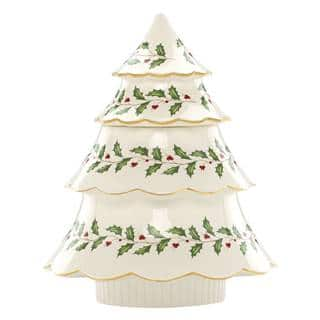 Lenox Holiday Archive Tree Cookie Jar https://ak1.ostkcdn.com/images/products/12172233/P19023873.jpg?impolicy=medium