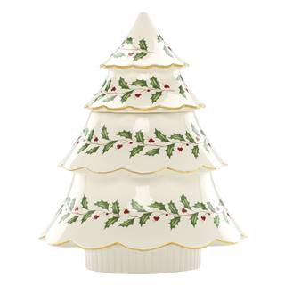 Lenox Holiday Archive Tree Cookie Jar